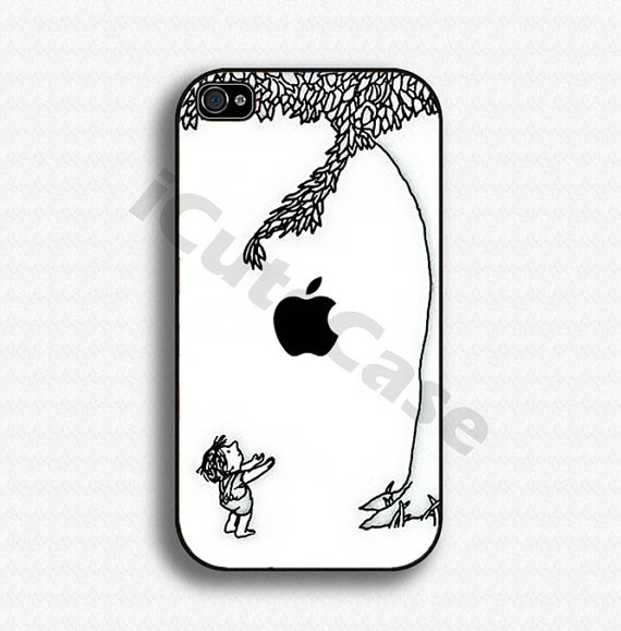 iPhone 4 case iPhone 4s case iPhone case iPhone Hard case for Apple iPhone 4 - Apple tree