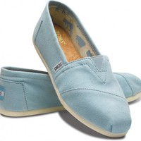 TOMS Blue Canvas Women&#x27;s Classics