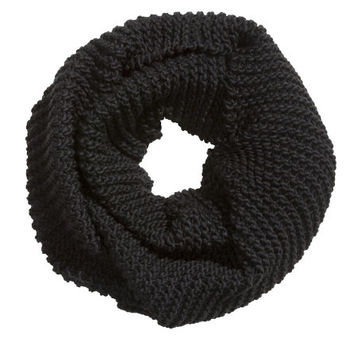 Knit Tube Scarf  from H M