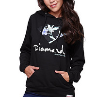 Diamond Supply Co Pullover Fleece Hoodie - Womens Hoodie - Black