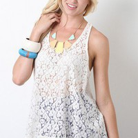 Wildflower Lace Top