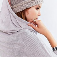 BDG Loungin Out Hoodie Top- Ivory