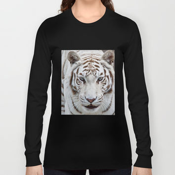 Tiger Tiger Long Sleeve T-shirts by Catspaws | Society6