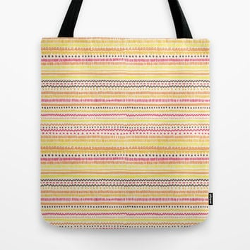 Summer Pattern Tote Bag by Timone | Society6