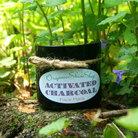 Activated Charcoal Face Mask with Turmeric, Peppermint, and Eucalyptus oils
