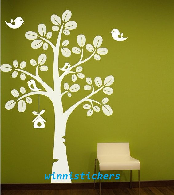Tree Design Wall Decals :