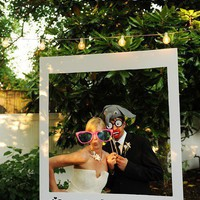 photography / Polaroid Photo Stand...not just for weddings either!