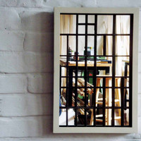 Framed Type Tray Mirror