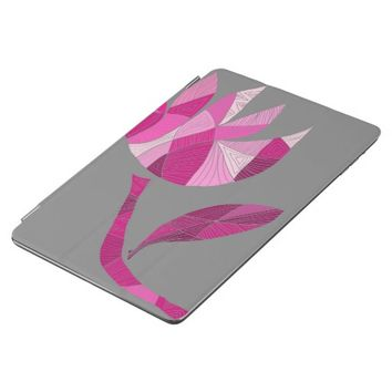 Fractured Flower by KCS iPad Air Magnetic Cover
