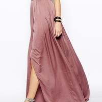 ASOS Tall | ASOS TALL Soft Split Maxi Skirt at ASOS