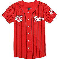 Young & Reckless Reckless Grand Slam Jersey - Mens Tee - Red