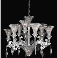 PLC Lighting 81985 - Zsa Zsa Modern / Contemporary Chandelier PLC-81985
