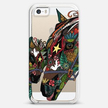 horse love transparent iPhone 5s case by Sharon Turner | Casetify ~ get $5 off using code: 5A7DC3