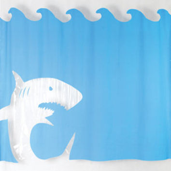 fredflare.com | 877-798-2807 | Jaws Shower Curtain