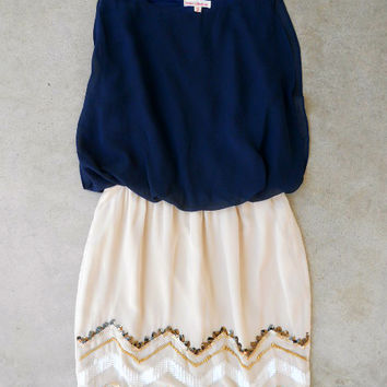 Navy Starbound Dress [4992] – $42.00 : Vintage Inspired Clothing & Affordable Dresses, deloom |…