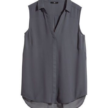 Sleeveless Blouse  from H M
