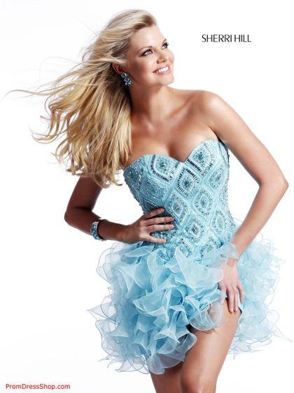 Sherri Hill 2535 at Prom Dress Shop