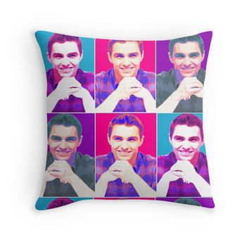 Dave Franco Andy Worhol Pillow