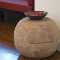 Mango Ball End Table: Friendly Furniture and Products - Terra Furnishings