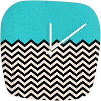 Follow The Sky - Modern Clock by Bianca Green | DENY Designs