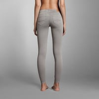 A&F Mid Rise Jeggings