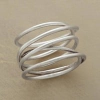 Handcrafted Twists & Turns Coil Ring | Robert Redford's Sundance Catalog