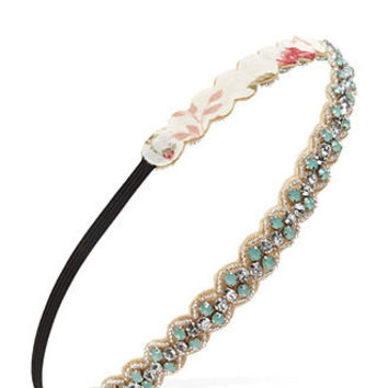 Rhinestone   Faux Gem Hairband