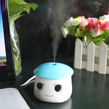 AGPtek USB Portable Air Mist Humidifier for Bedrooms Living