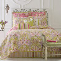 Dena™ Home Moroccan Garden Quilt, 100% Cotton - Bed Bath & Beyond