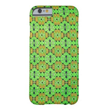 Neon Green Kaitag Textile iPhone 6 Cases