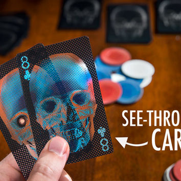 X-Ray Deck of Playing Cards Deceptively Translucent