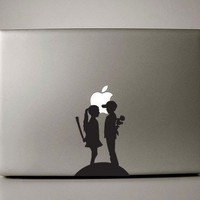 Love Hurts Macbook Decals