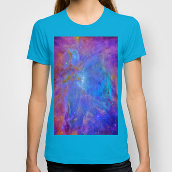 Orion Nebula Cool Blues & Lavenders T-shirt by 2sweet4words Designs | Society6