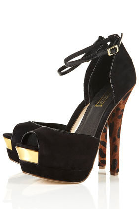 LOADED Black Platform Sandals - Going Out  - New In