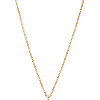 FOREVER 21 Dramatic Faux Gem Necklace Clear/Gold One