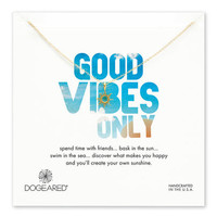 good vibes only radiant sun, gold dipped, 18 inch
