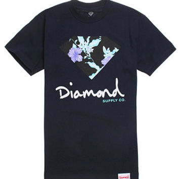 Diamond Supply Co Chill Floral T-Shirt at PacSun.com