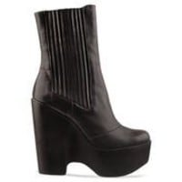 Jeffrey Campbell Detention in Black at Solestruck.com