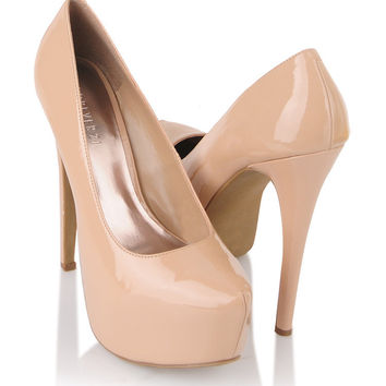 Pointed Patent Pumps