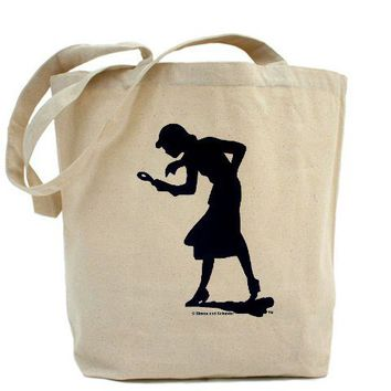 Nancy Drew Navy Silhouette Tote Bag - eBay (item 170649731177 end time Jul-02-11 14:21:43 PDT)