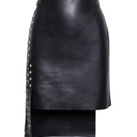 VERSUS | Leather Panel Skirt | Browns fashion & designer clothes & clothing