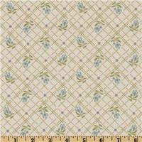 Rose Trellis Cream - Discount Designer Fabric - Fabric.com