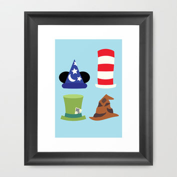 Magic in a Hat Framed Art Print by Page394