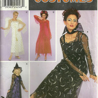 Adult Costume Pattern  Simplicity 0641 Sizes 14 16 18 20 Angel, Devil, Witch, Vampire