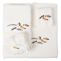 Feather-Embroidery Towel | ZARA HOME United States of America