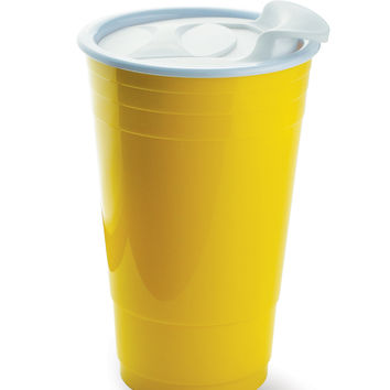 Portable Party Cup- Yellow | HOTTT.COM