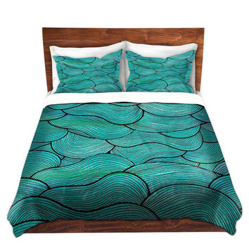 Sea Waves Bed Duvet Cover – For Twin, Queen and King Size Beds