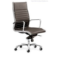 Zuo Nexos Hi Back Office Chair - 205103, Modern Office Furniture, Contemporary Office Chair: Nyfurnitureoutlets.com