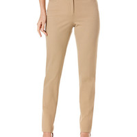 Rafaella Ridge Twill Slim Leg Pants