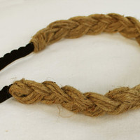 Braided Jute Headband